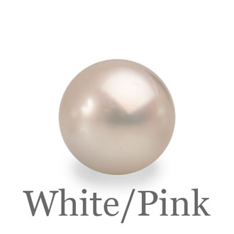 Selecting A Pearl Colour - White-Pink