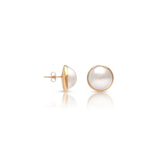 South Sea Mabe Pearl Studs