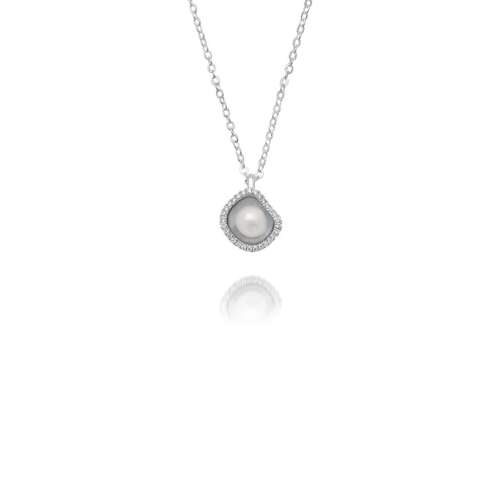 South sea keshi pearl diamond pendant cygnet bay pearls south sea keshi pearl diamond pendant aloadofball Image collections