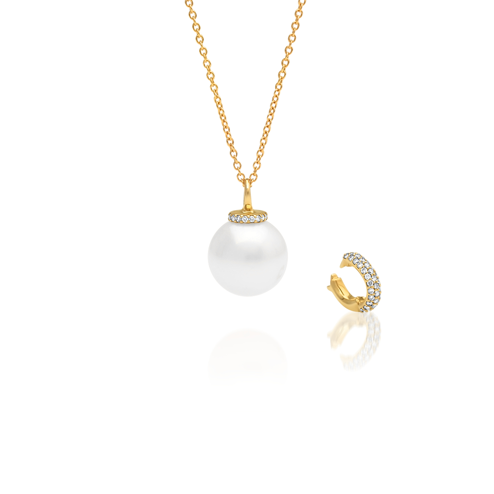 grahams image jewellery a on and pearl tahitian set chain diamond pearls pendant diamonds in gold jewellers