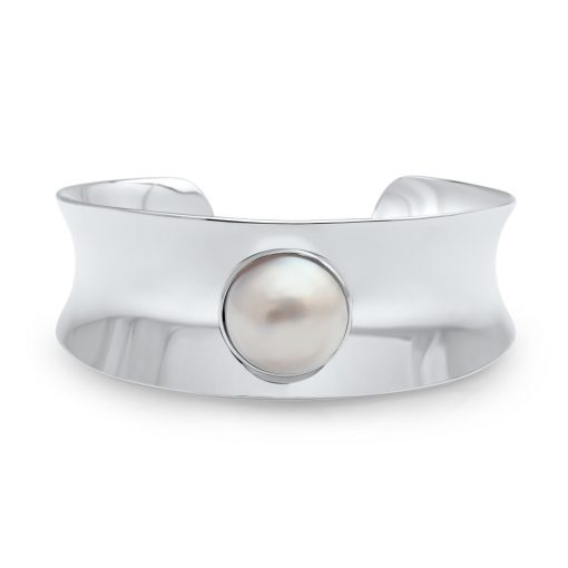 South Sea Mabe Pearl Cuff