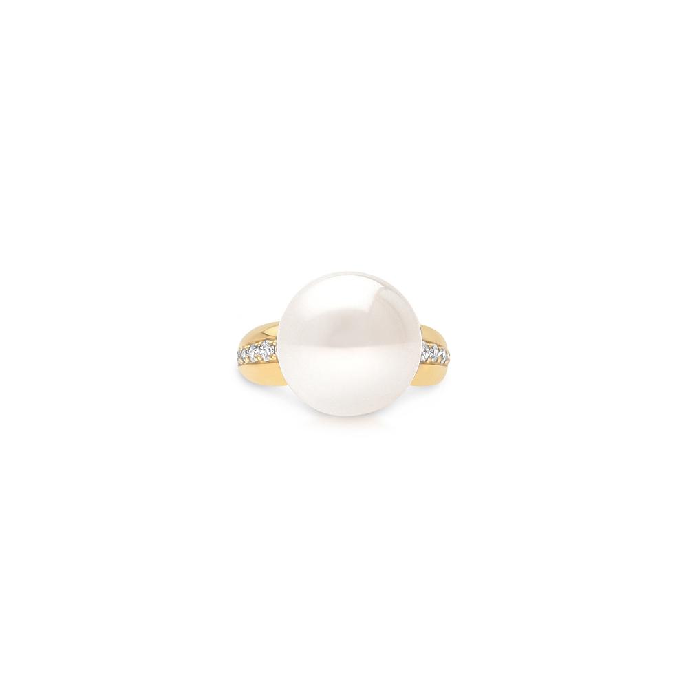 south sea pearl mojo diamond ring cygnet bay pearls. Black Bedroom Furniture Sets. Home Design Ideas