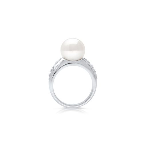 South Sea Pearl Mojo Diamond Ring