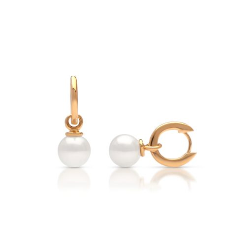South Sea Pearl Banksia Earrings