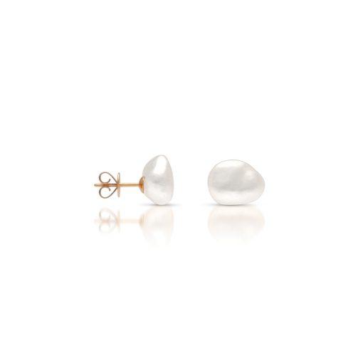 South Sea Keshi Pearl Stud Earrings