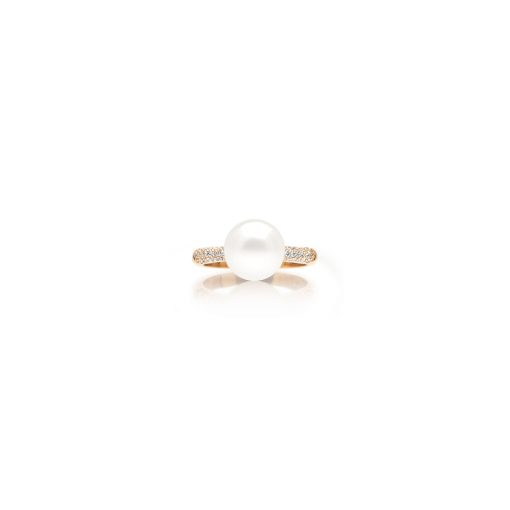 South Sea Pearl Dusty Ring