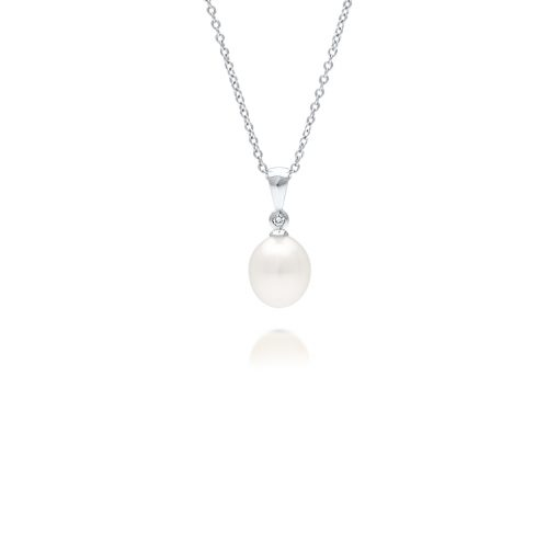 South Sea Pearl Nivea Diamond Pendant