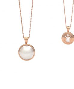 Save the Children South Sea Mabe pendant Rose Gold