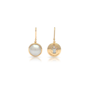 save the children gold earrings
