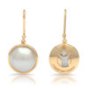 save the children mabe pearl earrings gold