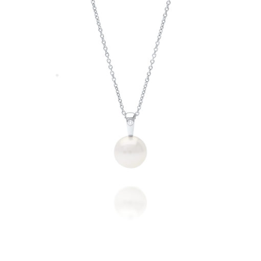 South Sea Pearl Cocos Diamond Pendant